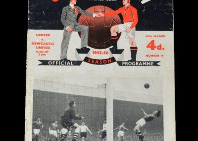 Man Utd v Newcastle 30.03.1956