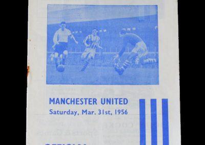 Man Utd v Huddersfield 31.03.1956