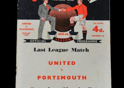 Man Utd v Blackpool 07.04.1956
