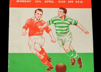 Man Utd v Celtic 16.04.1956 - Friendly