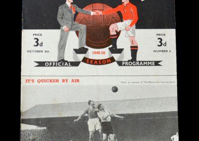 Man Utd v Charlton 08.10.1949