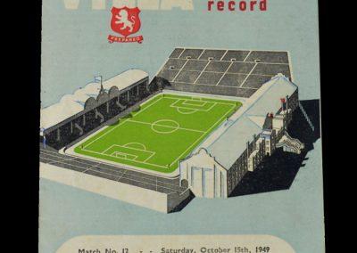 Man Utd v Aston Villa 15.10.1949