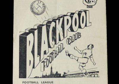 Man Utd v Blackpool 26.11.1949