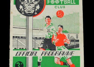 Man Utd v Fulham 10.12.1949