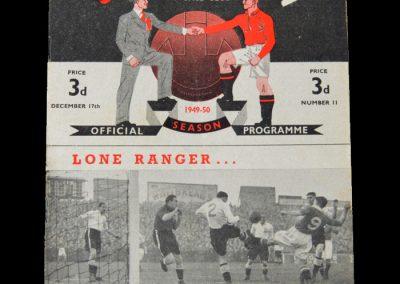 Man Utd v Derby 17.12.1949