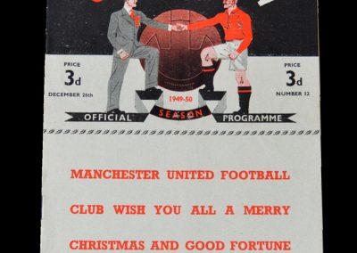 Man Utd v Arsenal 26.12.1949