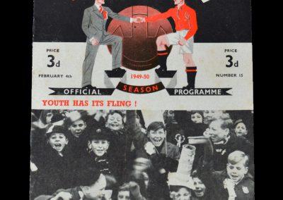 Man Utd v Burnley 04.02.1950