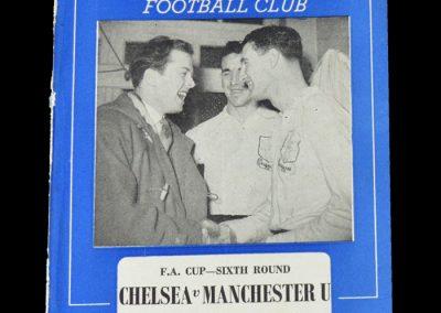 Man Utd v Chelsea 04.03.1950