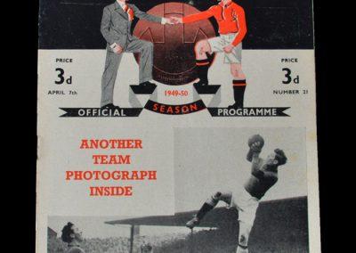 Man Utd v Birmingham 07.04.1950