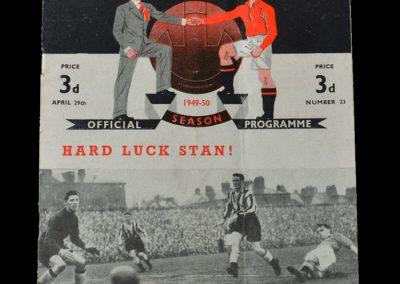 Man Utd v Fulham 29.04.1950