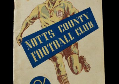 Notts County 1948-49 Season Handbook