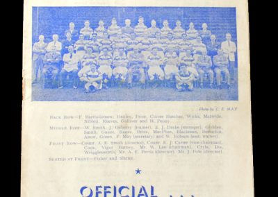 Notts County v Reading 18.09.1948