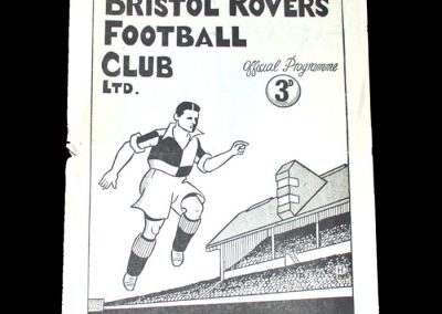 Notts County v Bristol Rovers 01.01.1949