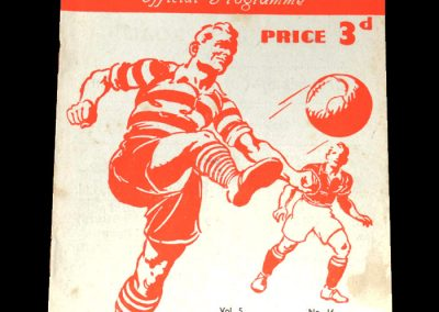 Notts County v Exeter City 12.03.1949