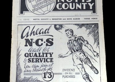 Notts County v Brighton 30.04.1949
