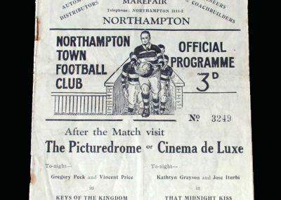 Notts County v Northampton 29.04.1950