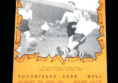 Notts County v Hull 28.04.1951