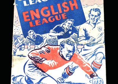 English League v Scottish League 23.03.1949