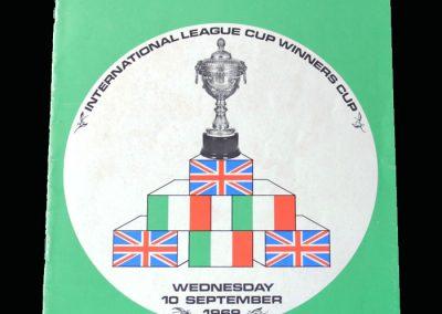 Swindon v Roma 10.09.1969 - Anglo Italian Cup