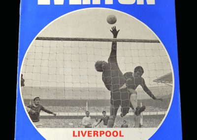 Everton v Liverpool 06.12.1969 (Sandy Brown Special Own Goal)