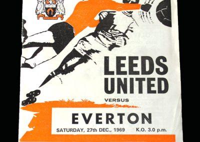 Leeds v Everton 27.12.1969