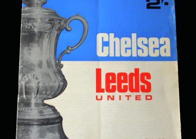 Chelsea v Leeds 29.04.1970 - FA Cup Final Replay