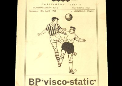 Darlington v Mansfield 13.04.1963 (Gauld and Sammy Chapman indictment 2 Count 5)