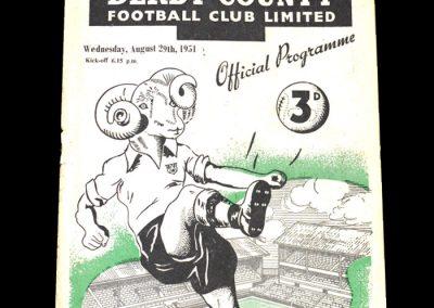 Derby v Wolves 29.08.1951