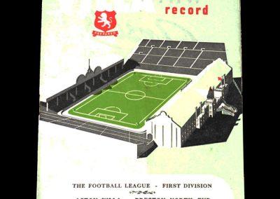 Aston Villa v Preston 27.10.1951