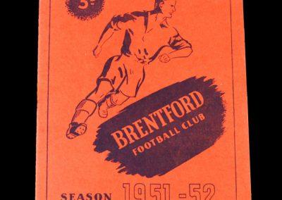 Brentford v Sheff Utd 17.11.1951