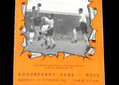 Hull v Doncaster 08.12.1951