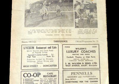 Doncaster v Rotherham 29.12.1951