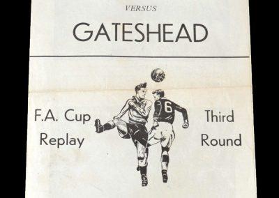 Gateshead v Ipswich 21.01.1952 - FA Cup 3rd Round 2nd Replay (Pirate)