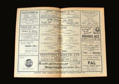Brentford v Luton 06.02.1952