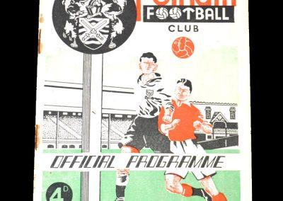 Fulham v Newcastle 09.02.1952