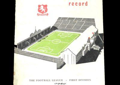 Aston Villa v Burnley 22.03.1952