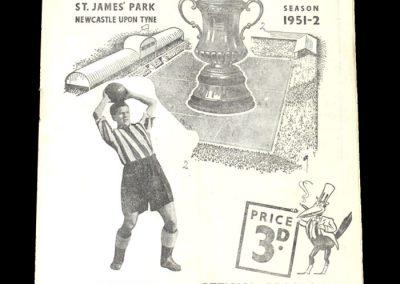 Newcastle v Blackpool 07.04.1952