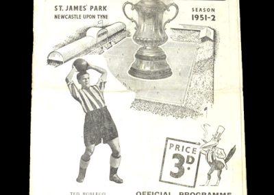 Newcastle v Middlesbrough 11.04.1952