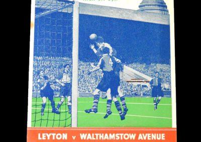 Leyton v Walthamstow 26.04.1952 - FA Amateur Cup Final