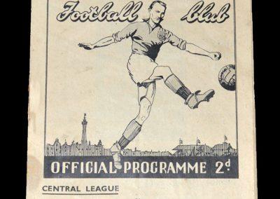 Blackpool Reserves v Sheff Utd Reserves 21.08.1948