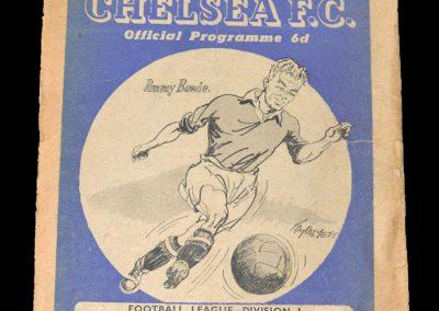Chelsea v Birmingham 01.01.1949
