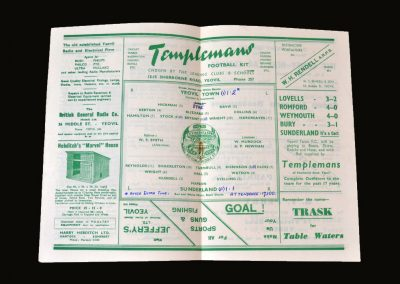 Yeovil v Sunderland 29.01.1949 - FA Cup 4th Round Sunderland til I die. They did that day!EY
