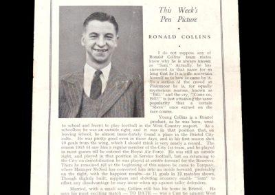 Torquay v Reading 26.02.1949