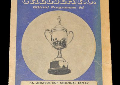 Leytonstone v Bromley 26.03.1949 - FA Amateur Cup Semi Final Replay