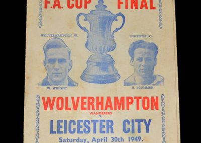 Leicester v Wolves 30.04.1949 - FA Cup Final (pirate)