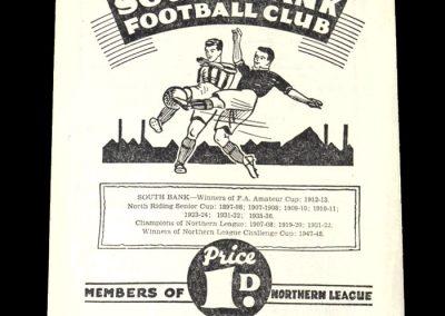 South Bank v Penrith 07.05.1949