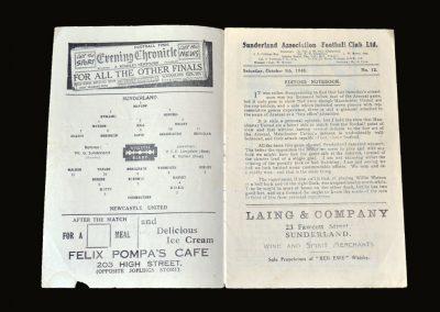 Newcastle v Sunderland 09.10.1948