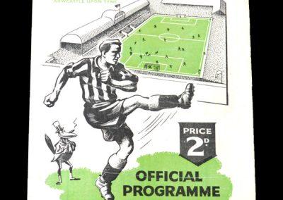 Newcastle v Bolton 16.04.1949
