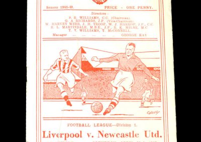 Newcastle v Liverpool 23.04.1949