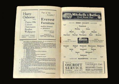 Derby v Blackpool 15.09.1948